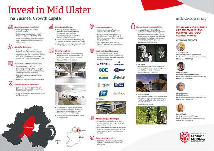 Mid Ulster Investment Profile Summary